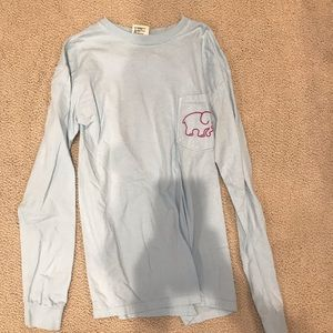 Light Blue Ivory Ella Long Sleeve